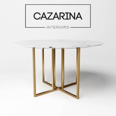 Corona, 大理石, 圆桌, 现代简约