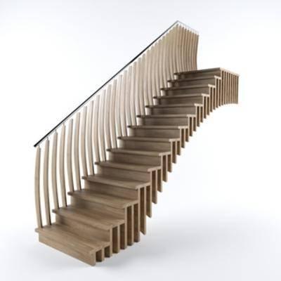 楼梯, 新中式, Corona