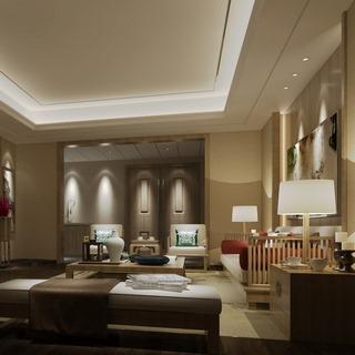 沙发茶几组合,客厅,新中式,陈设品