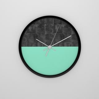 现代简约,挂钟,绿色