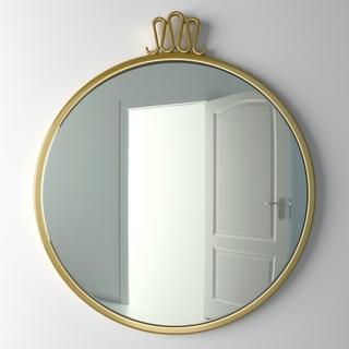 现代简约,镜子,圆镜