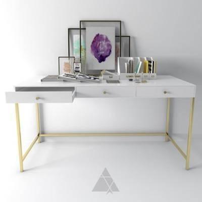 桌子, 书桌, 北欧简约, 化妆桌