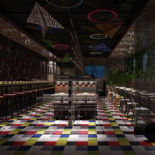 桌椅组合,餐厅,东南亚,陈设品
