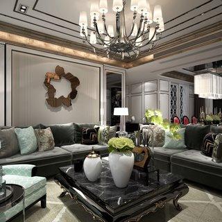 欧式现代客厅