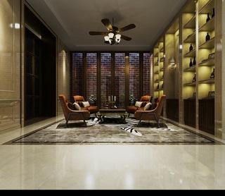 吊灯,沙发茶几组合,工业风,美式,置物架,会客室