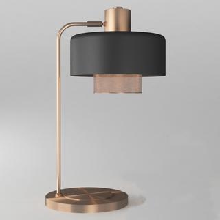 美式古典金属台灯
