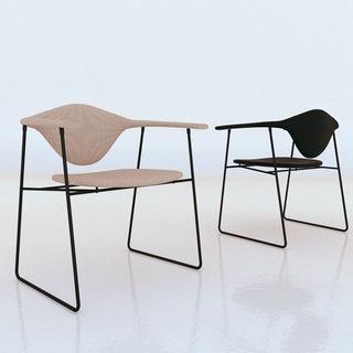 椅子,单人椅,美式简约,Corona