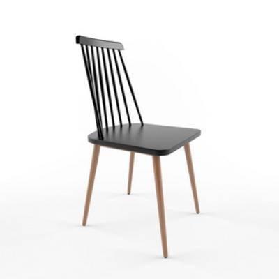 单人椅, 实木, 美式, 美式椅子, 椅子