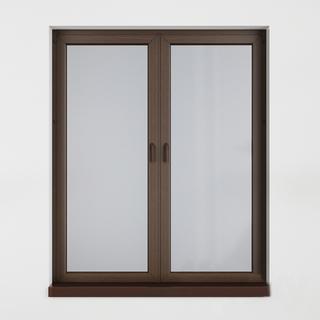 中式,窗户,木纹