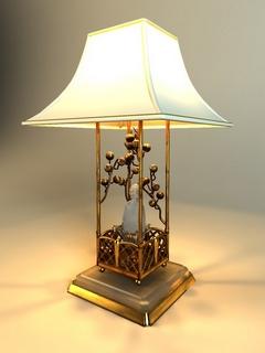 中式,台灯,中式台灯