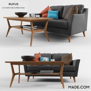 英国MADE美式简约沙发组合