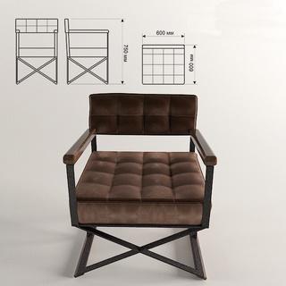 沙发,工业风,美式,单人椅