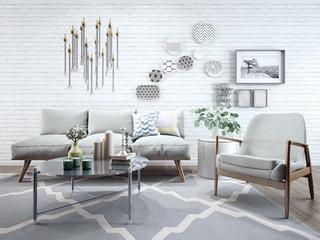椅子,沙发茶几组合,现代简约,装饰品,北欧