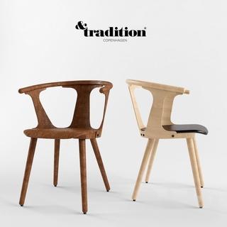 荷兰&tradition实木单椅