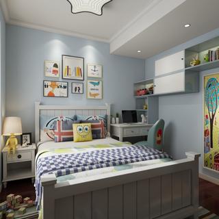 台灯,现代简约,儿童房,床具组合,陈设品组合