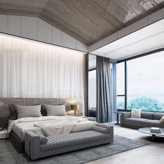 沙发,卧室,现代简约,窗帘,床具组合