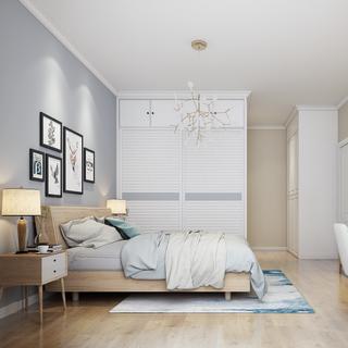 卧室,衣柜,现代简约,装饰画,床具组合