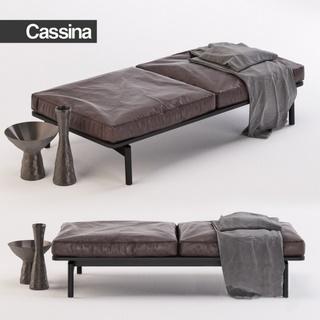 意大利Cassina北欧简约脚踏沙发