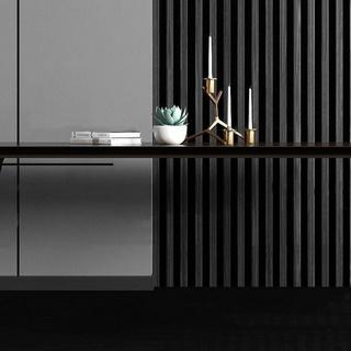 盆栽,现代简约,桌子,组合,金属烛台