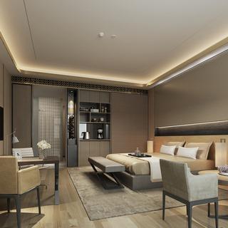 桌椅组合,现代简约,床具组合,酒店客房