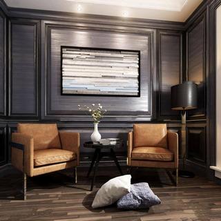 沙发组合,沙发茶几组合,棕色,现代简约