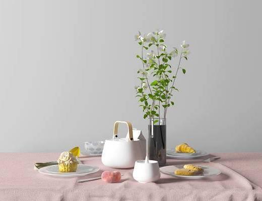 北欧美式餐具组合, 北欧餐具组合, 美式餐具组合, 餐具组合, 餐具