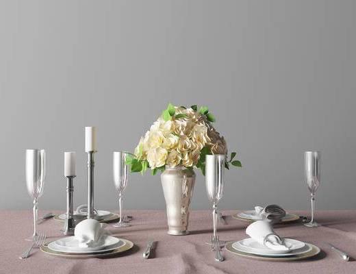 现代餐具组合, 餐具组合, 餐具