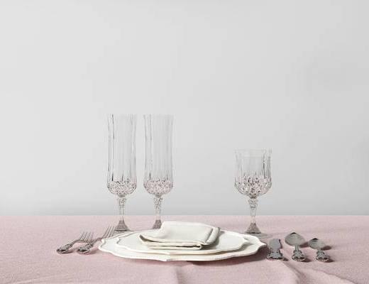 现代餐具组合, 餐具组合, 刀叉组合, 餐具