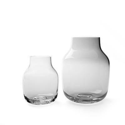 现代, 器皿, 玻璃, 摆件