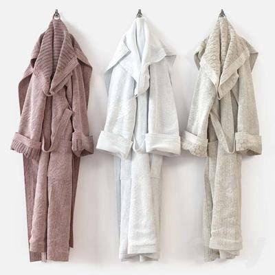 现代, 浴袍
