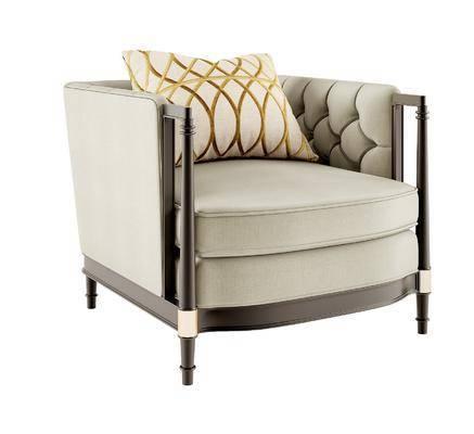 美式单椅, 单椅, 椅子