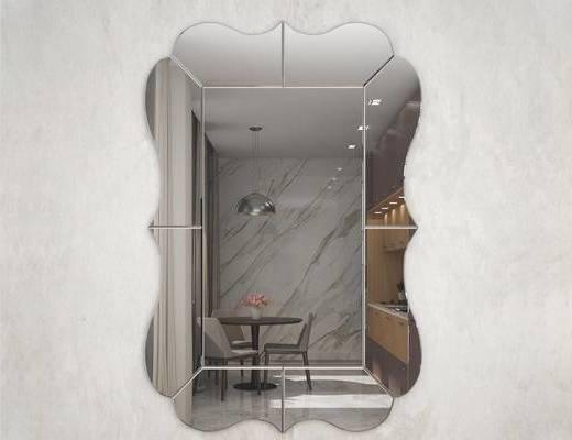 现代简约, 装饰镜, 镜子