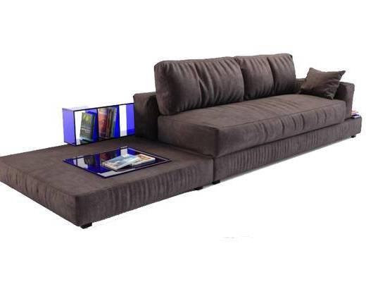 现代简约, 多人沙发, 现代沙发