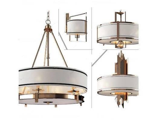现代简约, 吊灯, 灯具