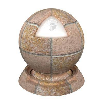 地面, 地磚, 石料, 材質