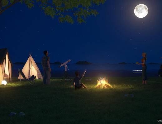 帐篷, 现代, 创意设计