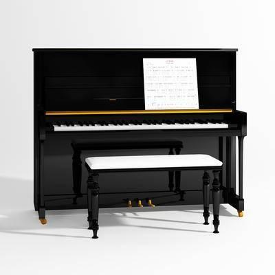 钢琴, 现代