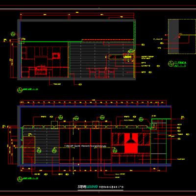 CAD施工图, 工装, 展厅, 平面图, 立面图, 大师, 下得乐3888套模型合辑
