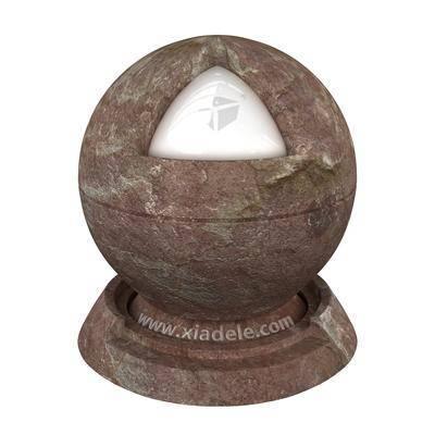 紅巖, 石料, 材質