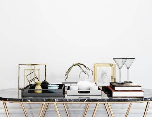 摆件组合, 茶具, 现代