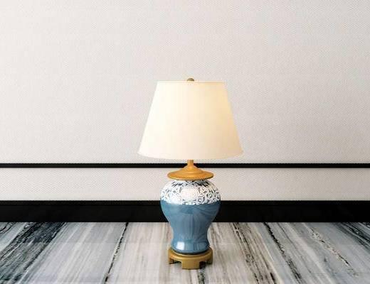 台灯, 新中式