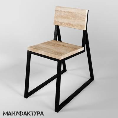 单椅, 休闲椅, 工业风