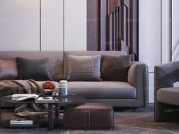 现代沙发茶几组合6