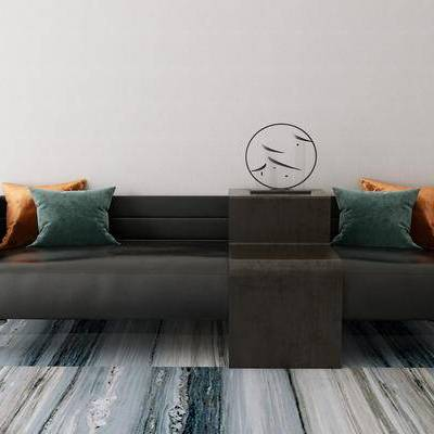 多人沙发, 新中式