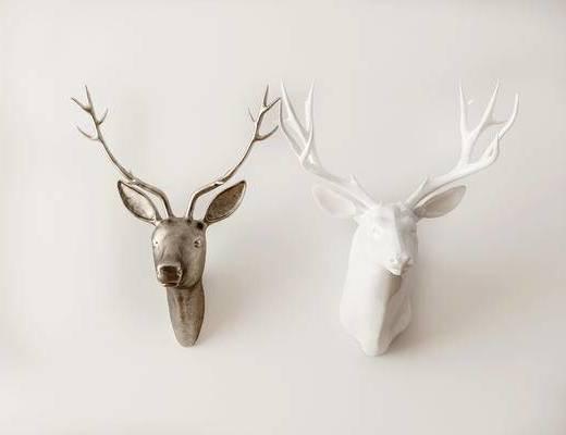 动物墙饰, 北欧