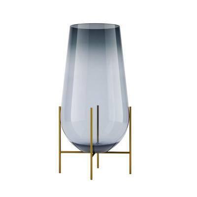 现代, 器皿, 摆件, 装饰, 玻璃