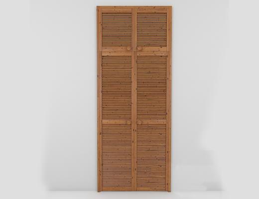 新中式, 实木衣柜, 衣柜, 中式衣柜