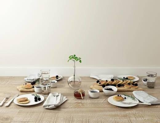 餐具, 面包, 北欧
