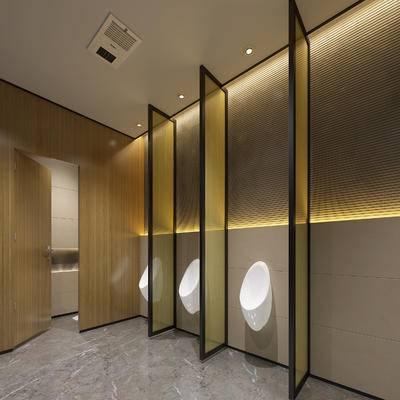 现代卫生间, 小便器, 现代