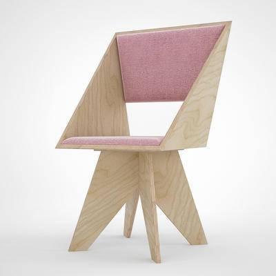 椅子, 休闲椅, 现代